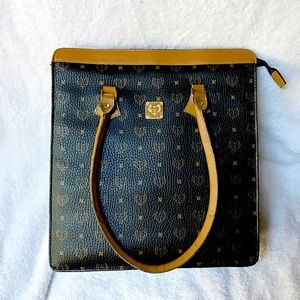 Large Square Standing Purse